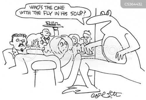 waiter waiter cartoon
