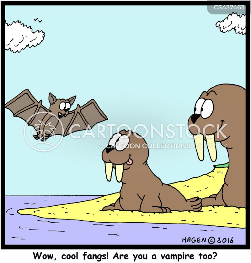fangs cartoon