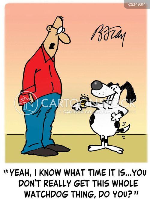 watch dog cartoon