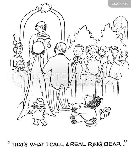 page boy cartoon
