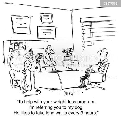walking dogs cartoon