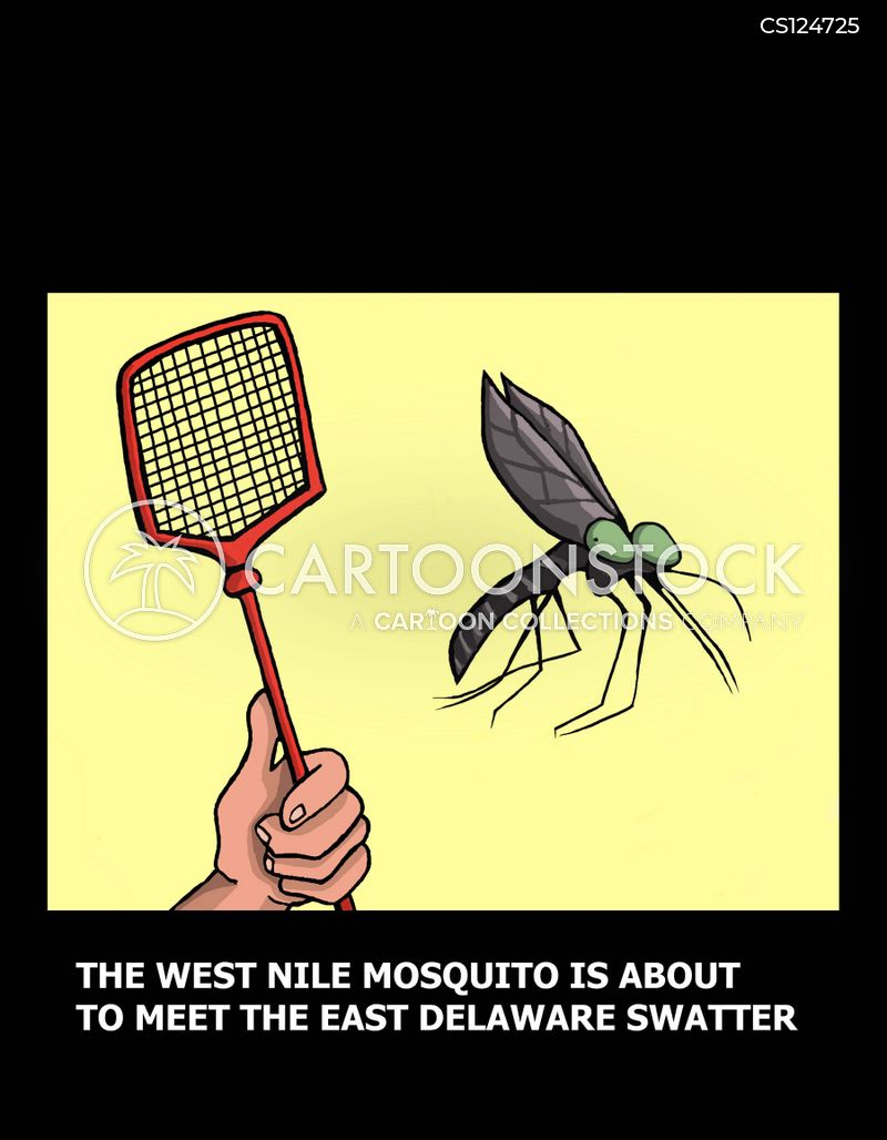 west nile cartoon