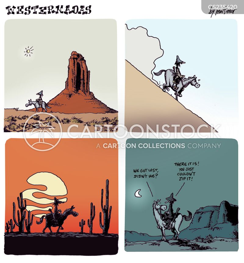 death valley cartoon