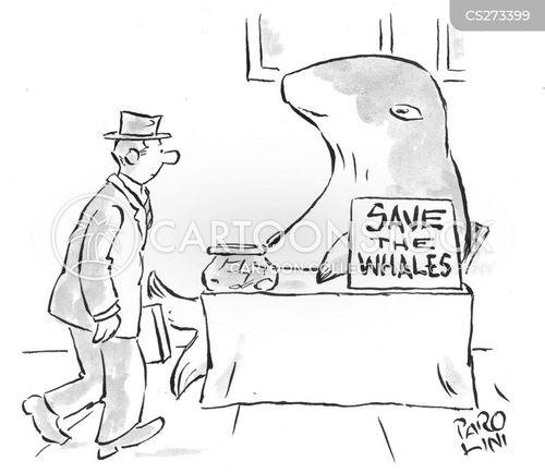 environmental campaigner cartoon