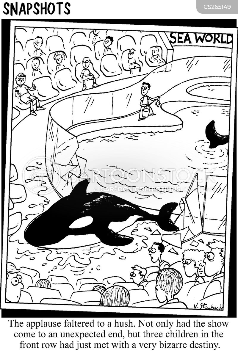 sea world cartoon
