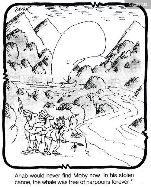 moby cartoon
