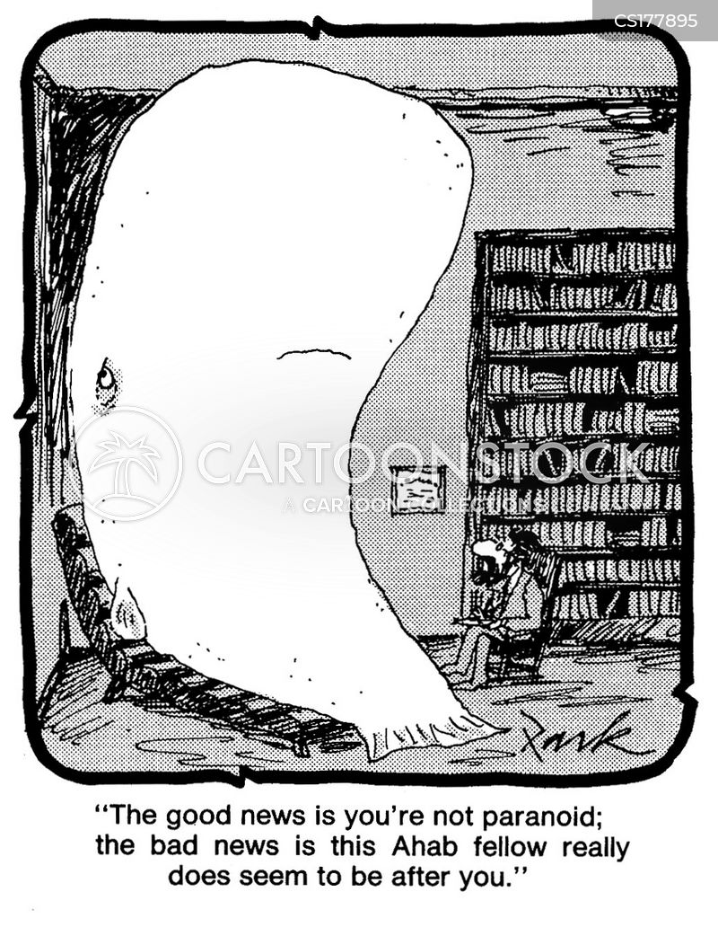 white whales cartoon