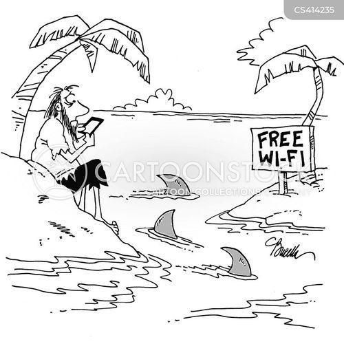 wi fi cartoon