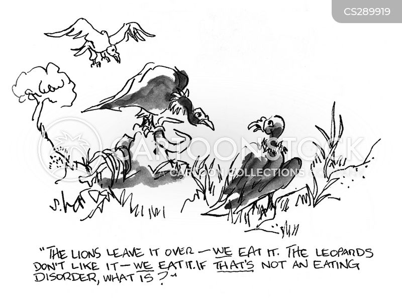 dead meat cartoon