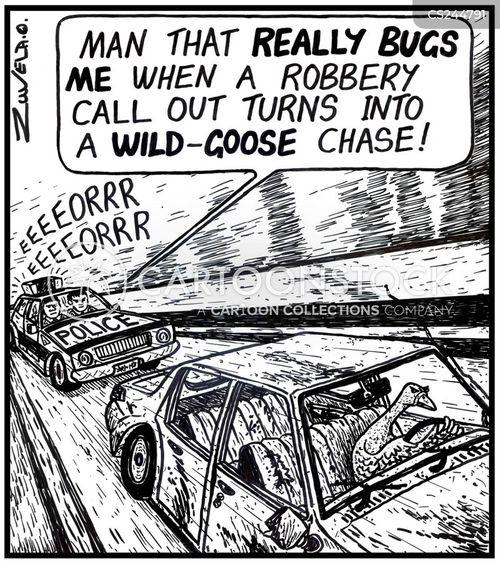 wild goose cartoon