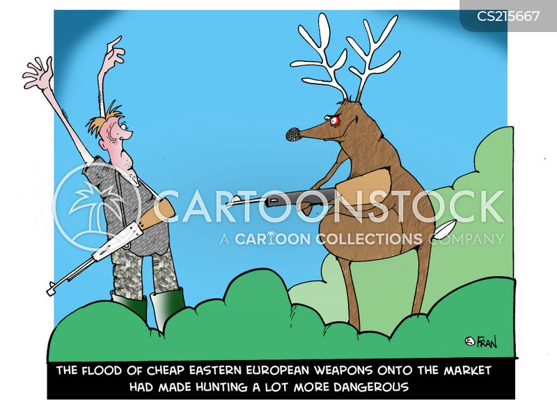 eastern european weapons cartoon