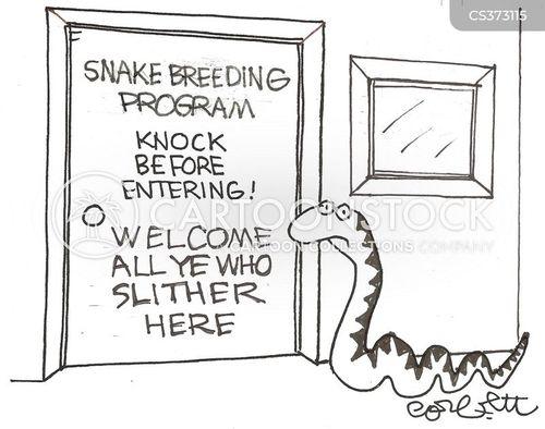 knock before entering cartoon