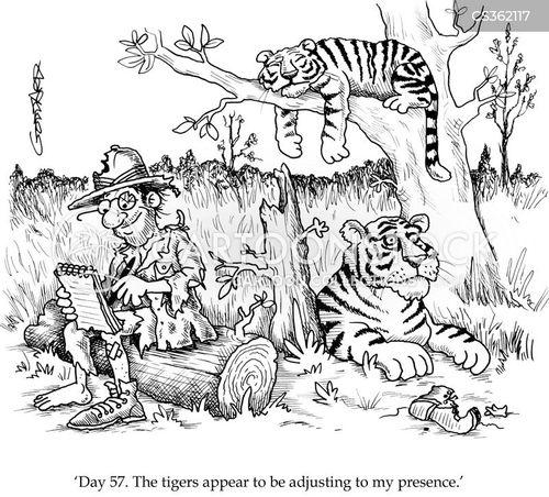 wildlife documentary cartoon