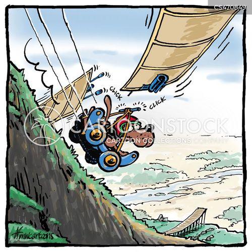 flying machine cartoon