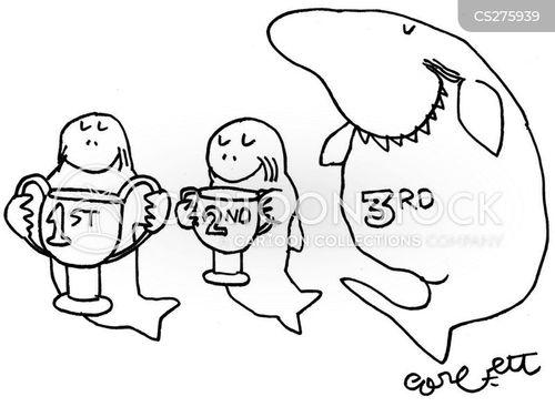first prize cartoon