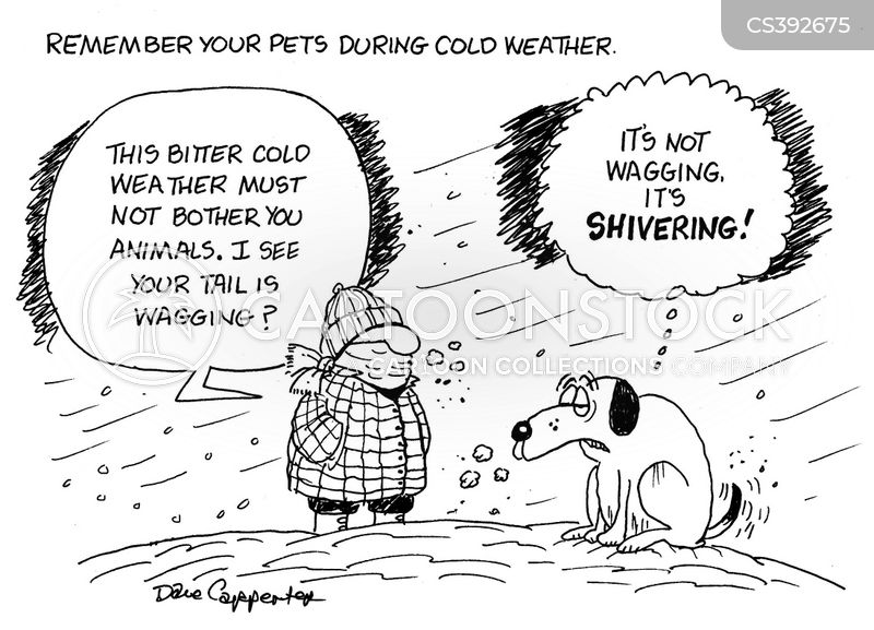 shiver cartoon