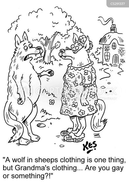 lupine cartoon