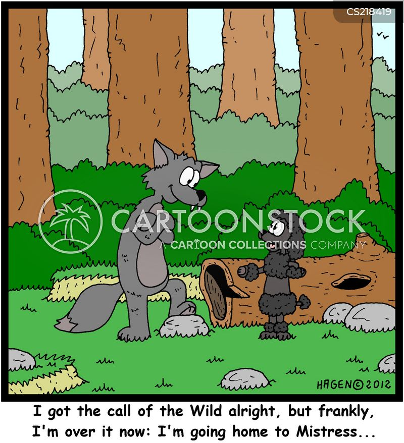 call of the wild cartoon