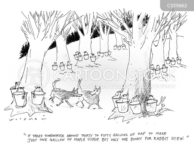 rabbit stew cartoon