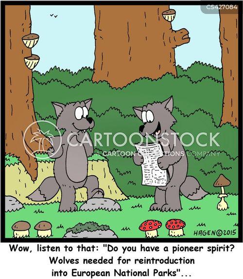 pioneering spirits cartoon