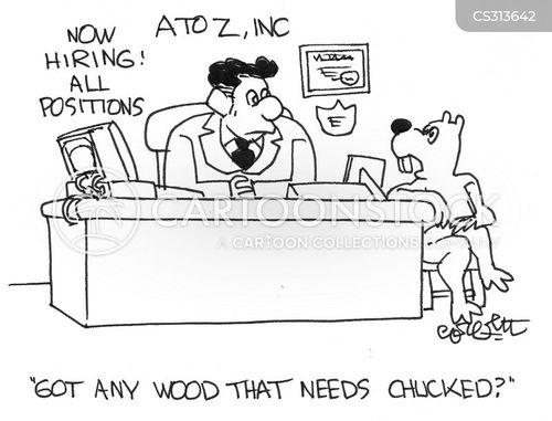 wood chuck cartoon