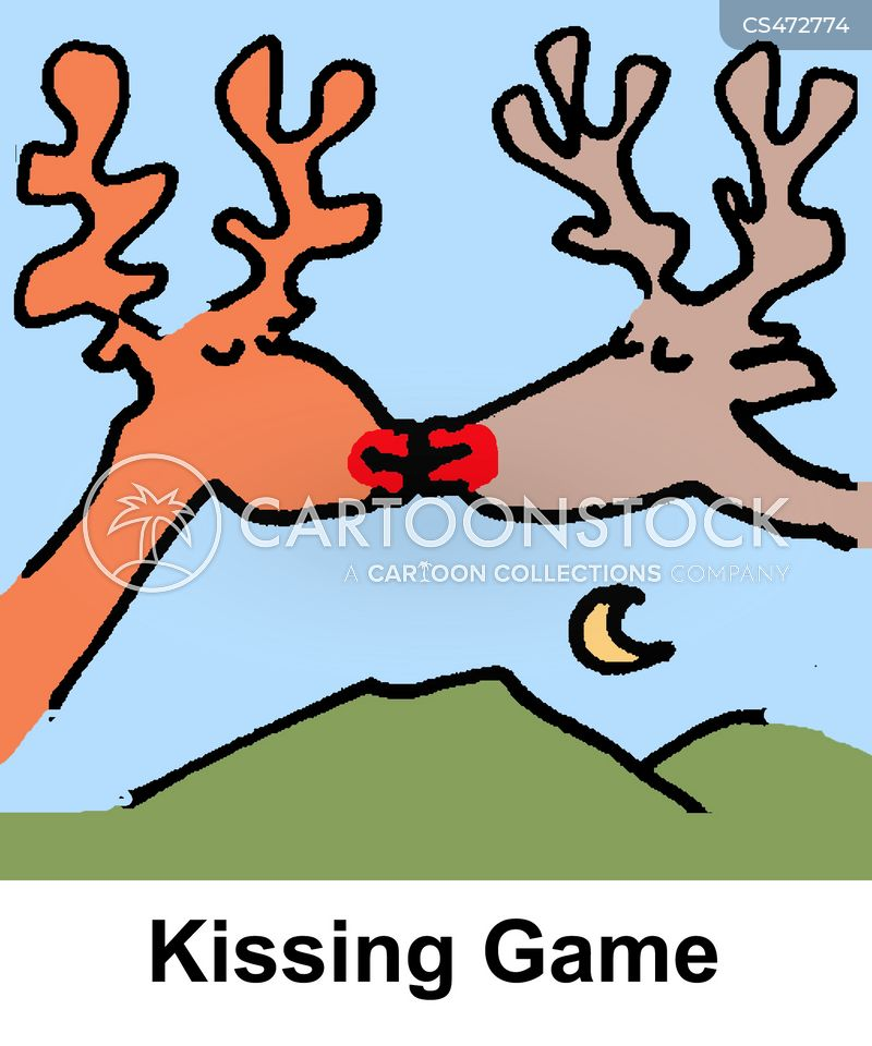 Kissing Game cartoons, Kissing Game cartoon, funny, Kissing Game picture, Kissing Game pictures, Kissing Game image, Kissing Game images, Kissing Game illustration, Kissing Game illustrations