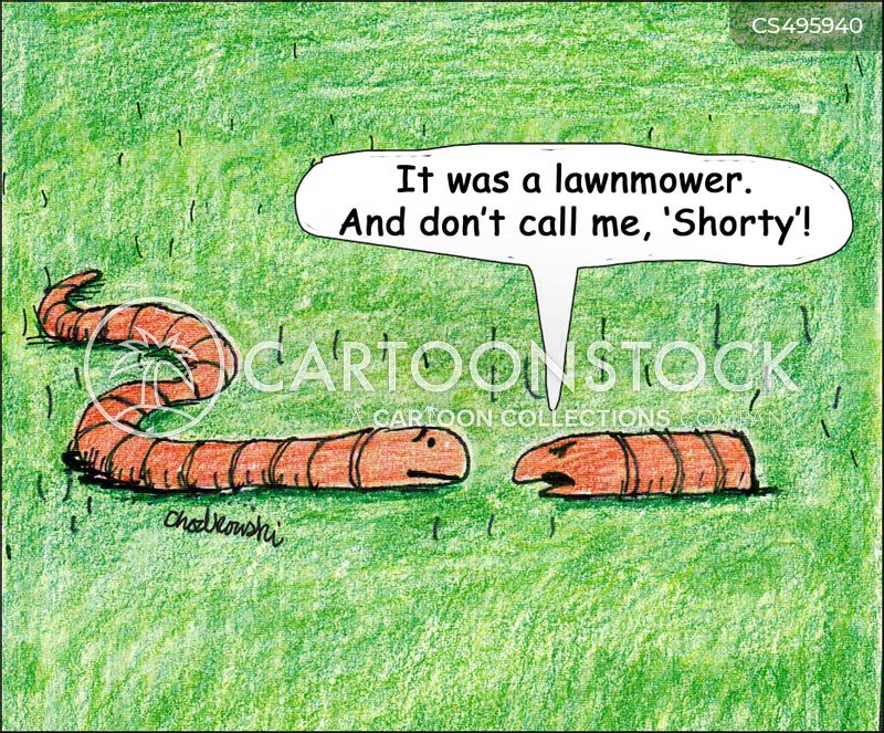 earth-worm cartoon
