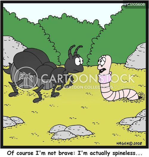 backbone cartoon