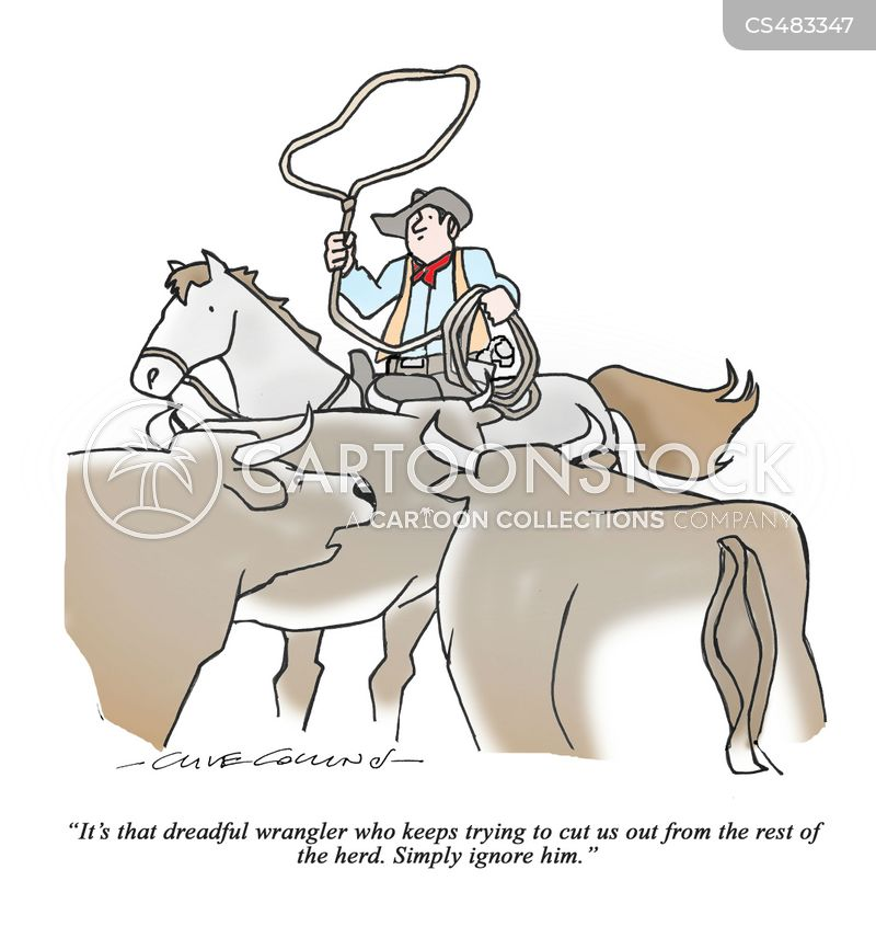 cattle rancher cartoon