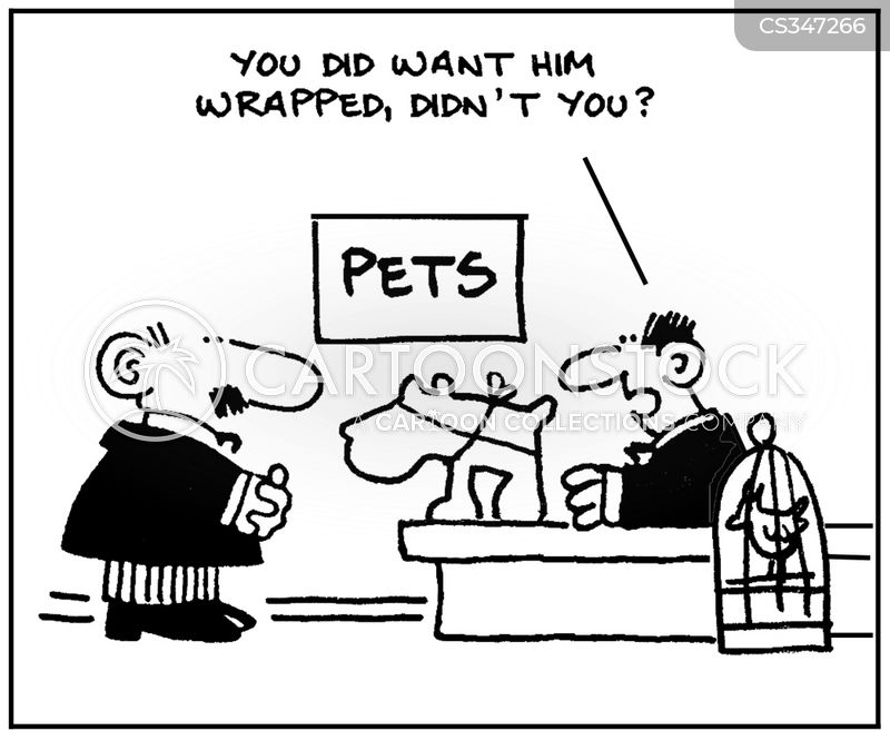 wrappings cartoon