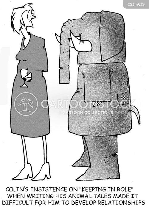 animal costumes cartoon