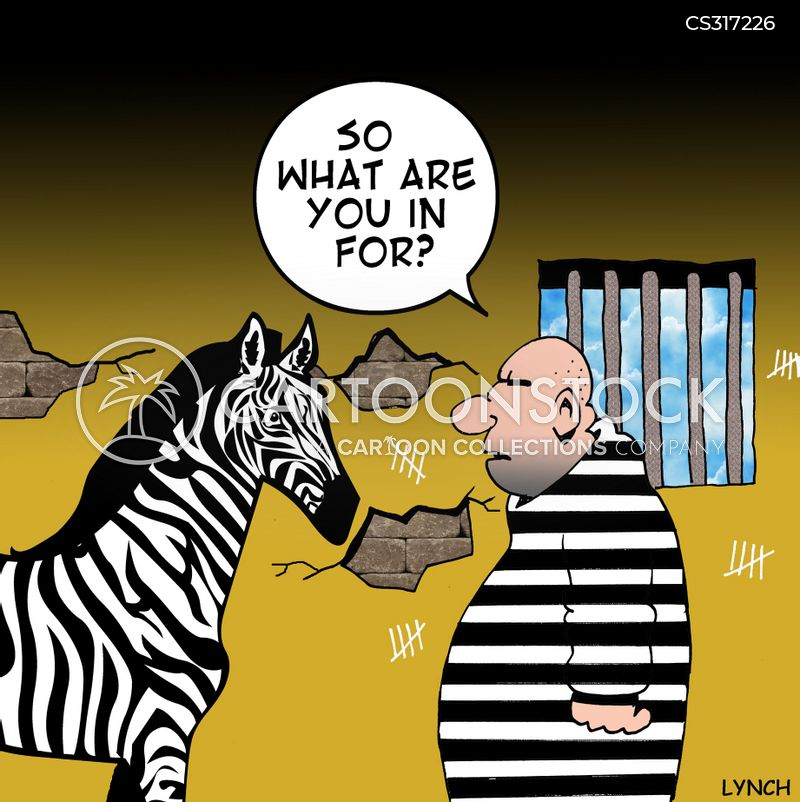 prison stripes cartoon