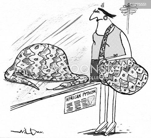snakeskin cartoon