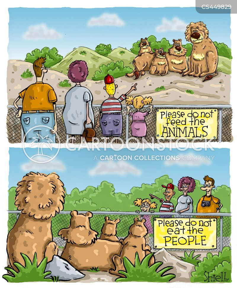 enclosure cartoon