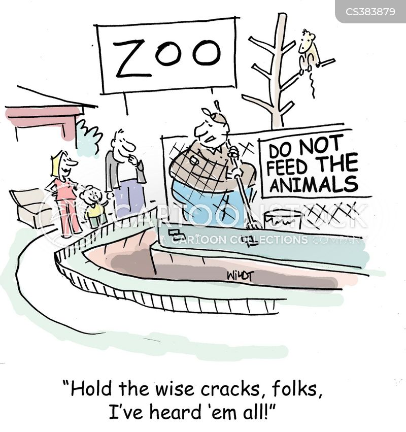 wise crack cartoon