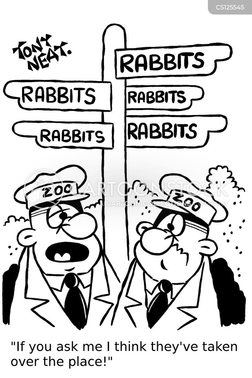 zoo keeping cartoon