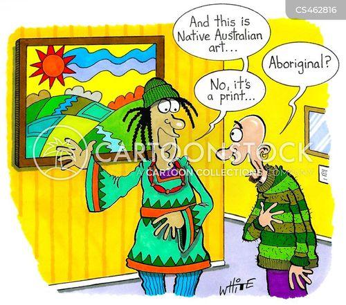 native australian cartoon