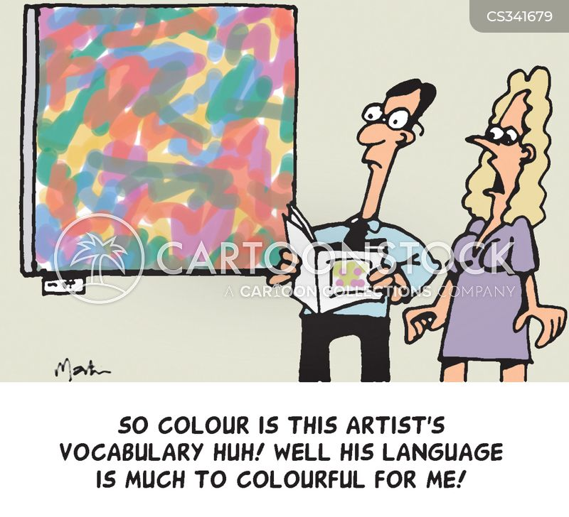 colorful cartoon