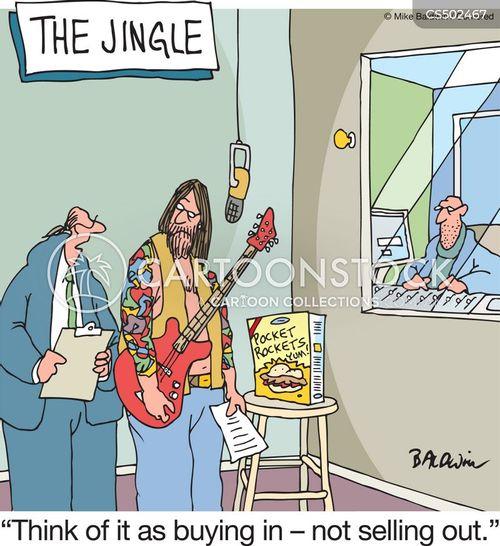 radio jingle cartoon