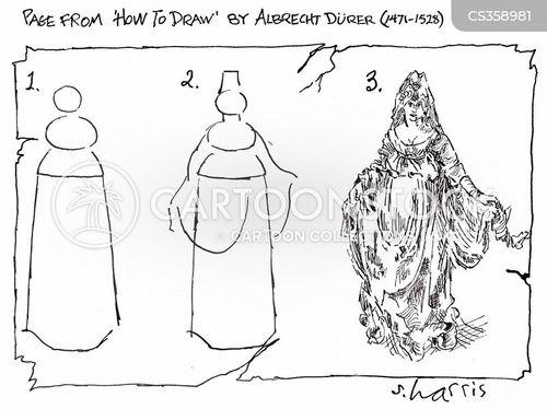 art theory cartoon