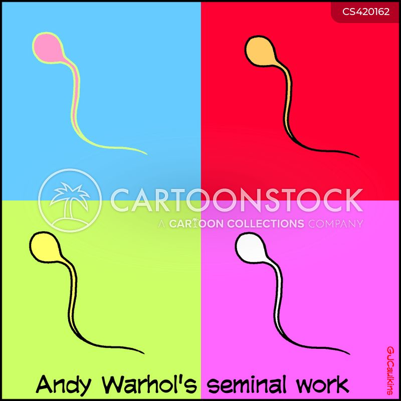 andy warhol cartoon