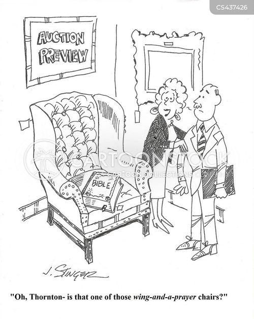 estate sales cartoon