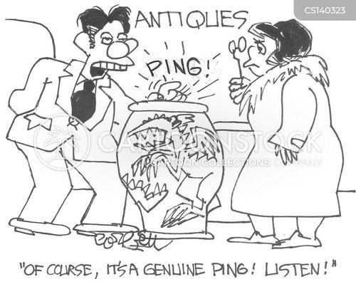 antique stores cartoon