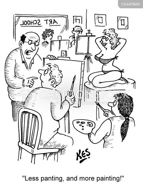 art schools cartoon