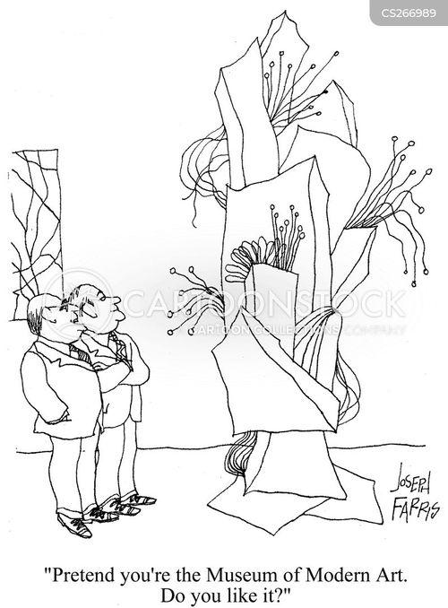 work of art cartoon