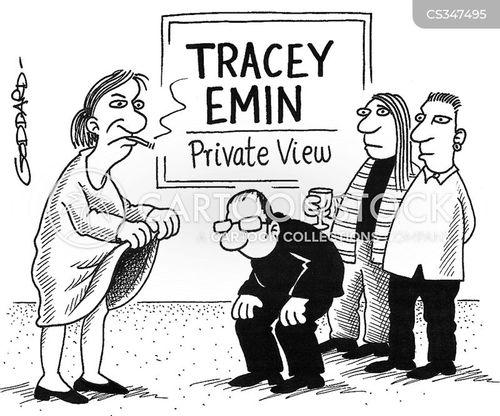 tracey emin cartoon