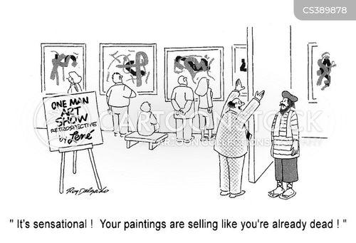 displayed cartoon