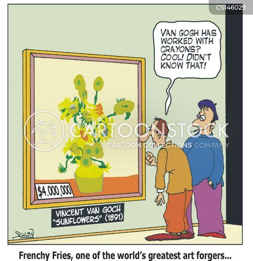 forged cartoon