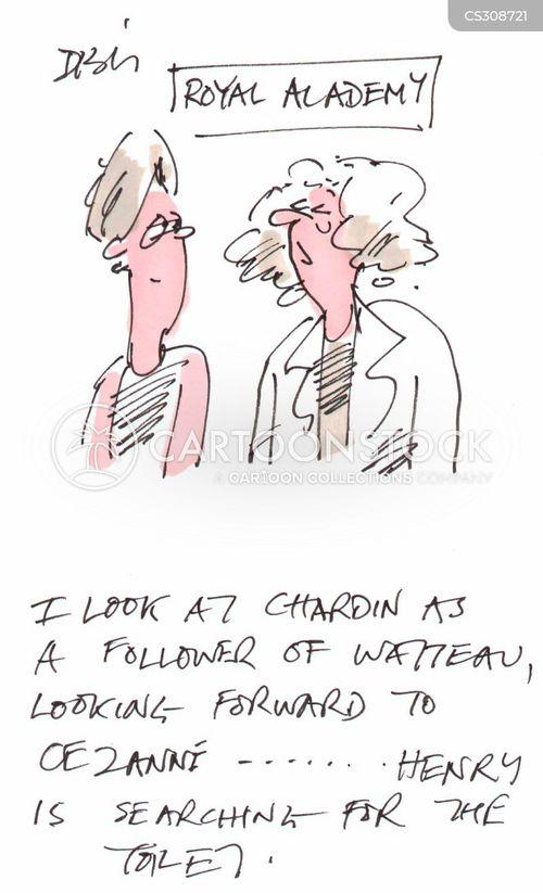 royal academy cartoon