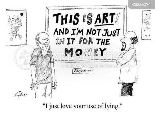 money making scheme cartoon